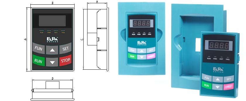 Falowniki HFinverter - panel sterowniczy