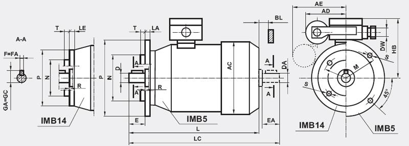 Silniki indukcyjne 1-fazowe, 90
